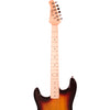 Rise by Sawtooth Left Handed 3/4 Size Electric Guitar with Accessories, Sunburst