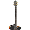 Takamine GB72CE BSB Jumbo Acoustic Electric Bass Guitar, Black Sunburst, with ChromaCast Pick Sampler, & Polish Cloth