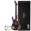 ESP Guitars LTD Kirk Hammett Limited Edition Ouija Purple Sparkle Electric Guitar with Hard Case & Signed COA