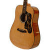 Sawtooth Acoustic Dreadnought Guitar with Black Pickguard w/Custom Graphic - Includes: Picks & Hard Case