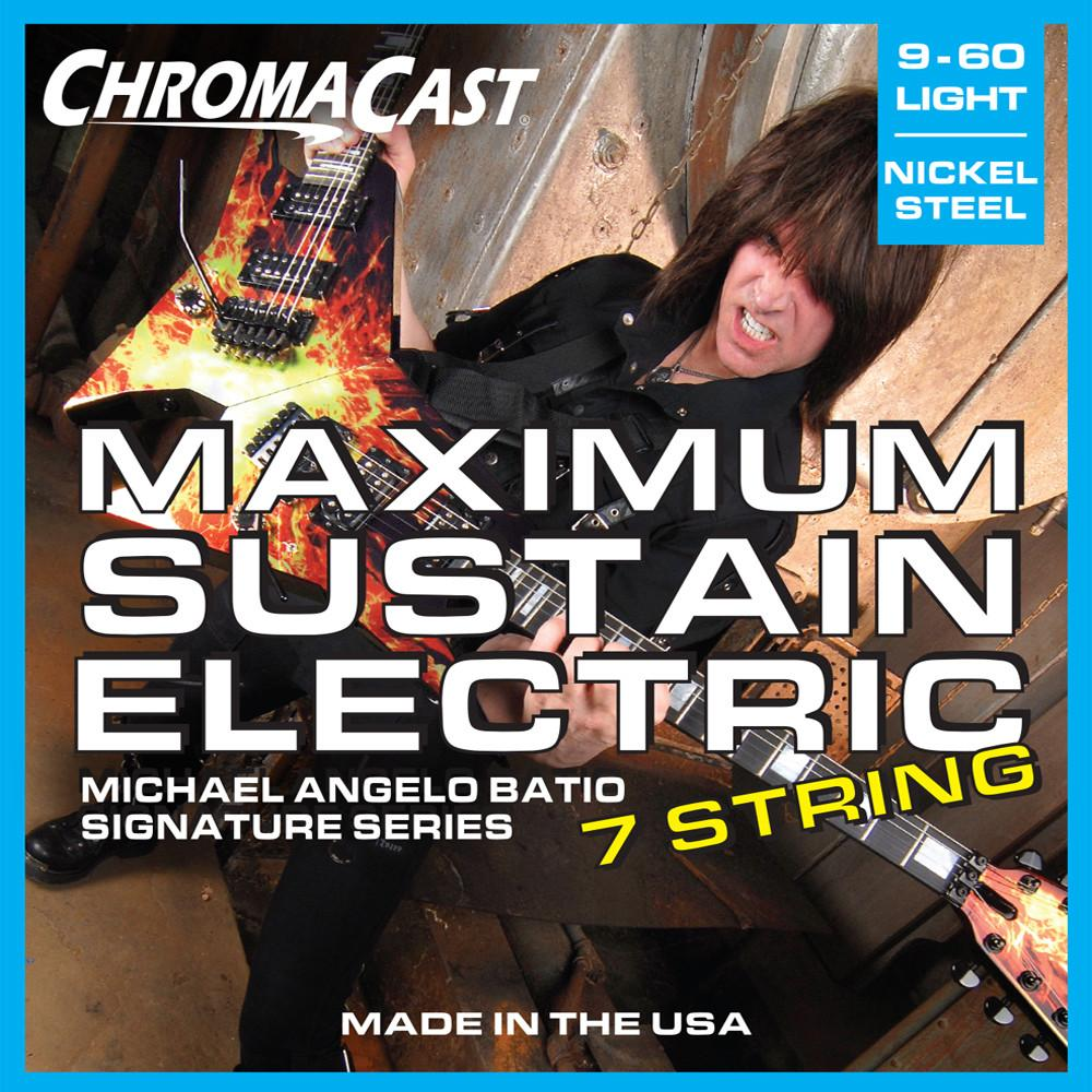 ChromaCast CC-GS-MS-L-MAB Maximum Sustain 7 String Electric Guitar Strings, MAB Signature Series