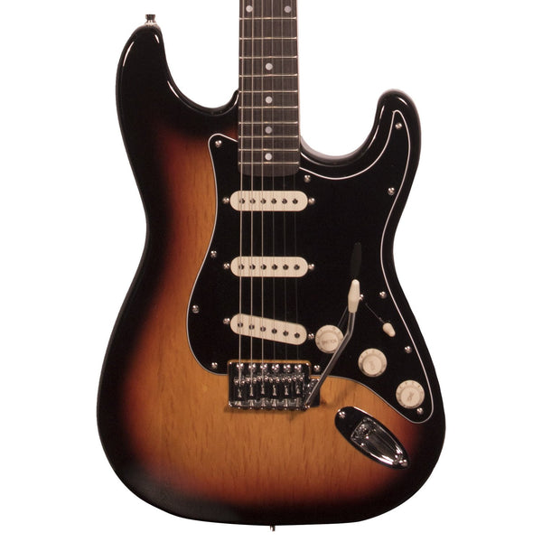 Sawtooth Classic ES 60 Series Alder Body Electric Guitar - Sunburst with Black 3-Ply Pickguard