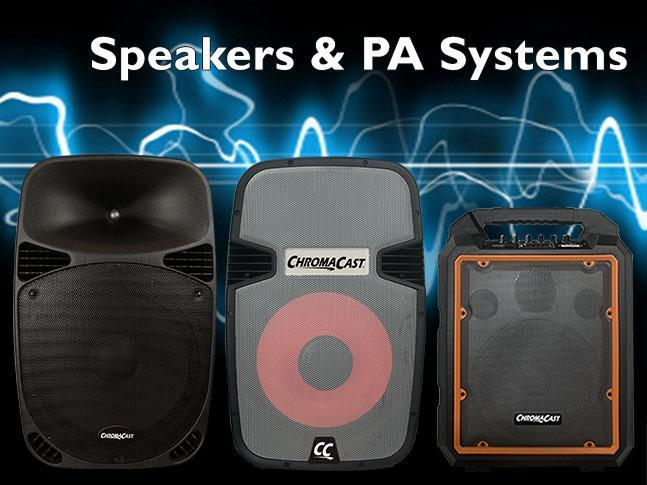 Speakers & PA Systems