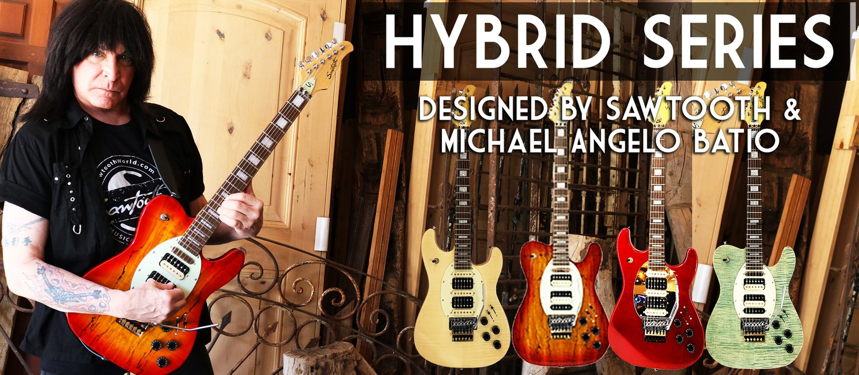 Michael Angelo Batio Hybrid Guitars