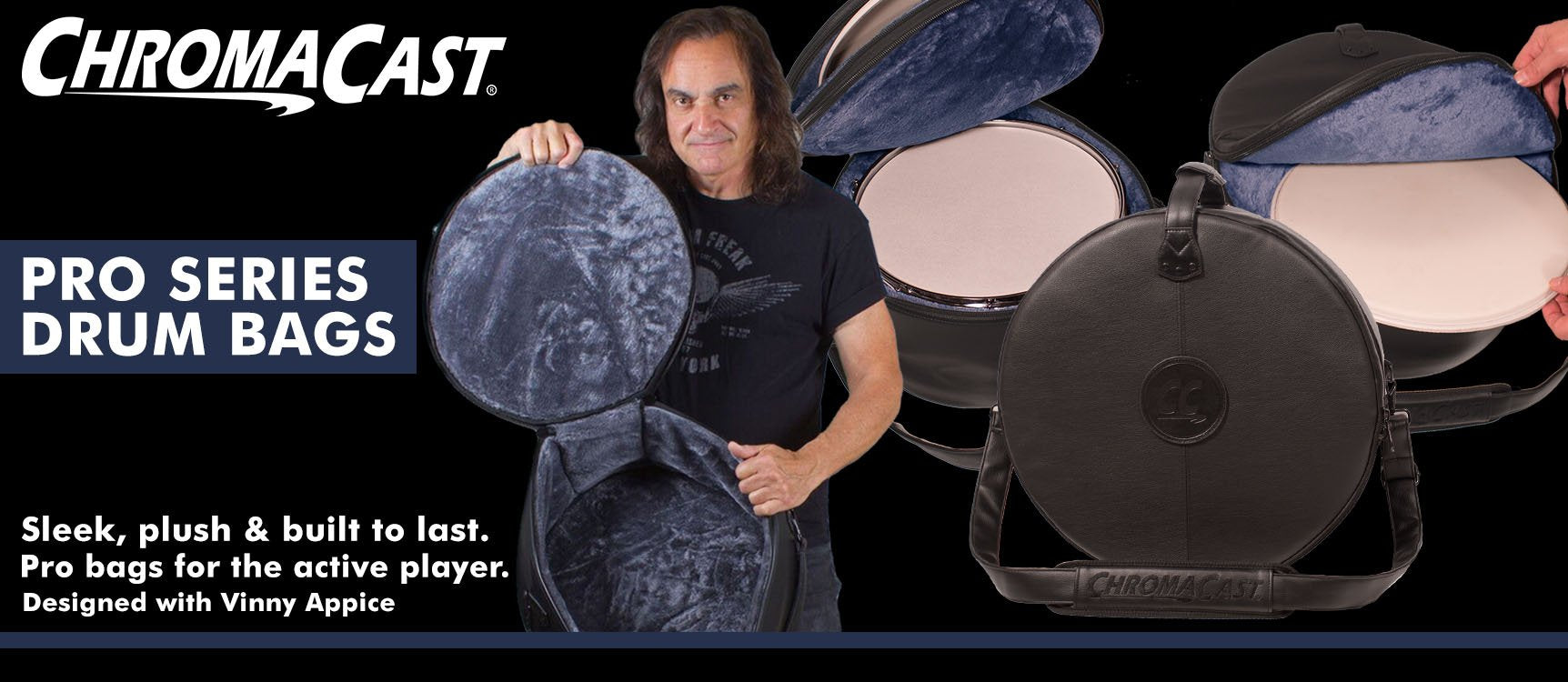 ChromaCast Pro Series Drum Bags