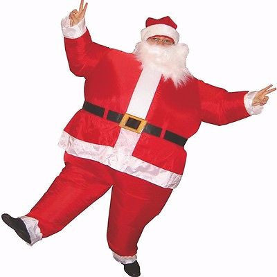 Inflatable Santa Claus Suit