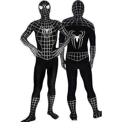Spiderman (black & white) Second Skin Suit
