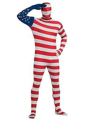 USA Flag Second Skin Suit