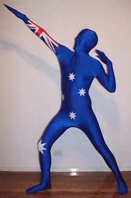 Australian Flag Second Skin Suit