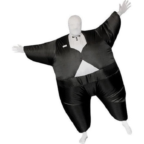 Inflatable Tuxedo Suit - Fan Operated Costume