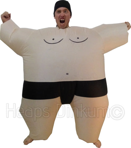 Inflatable Sumo Suit - Fan Operated Costume