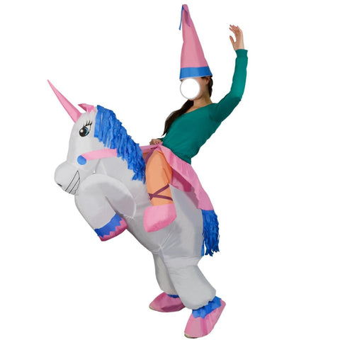 Riding Unicorn Costume