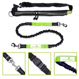 Hands Free Dog Leash W/Smartphone Pouch