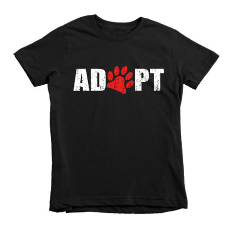 Adopt - Short Sleeve Kids T-Shirt -  - 2