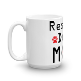 Rescue Dog Mom Coffee Mug -  - 6