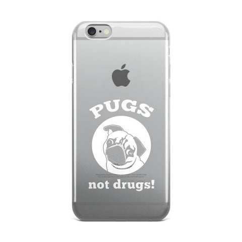 iPhone case - Pugs Not Drugs! -  - 1