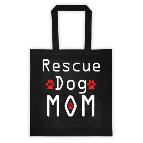 Tote Bag - Rescue Dog Mom -  - 1