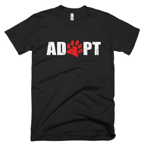 Adopt - Short Sleeve Men's T-Shirt -  - 2