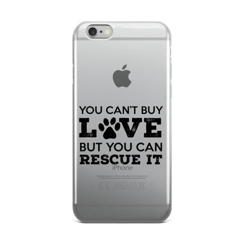 iPhone case - Rescue Dog Love -  - 1