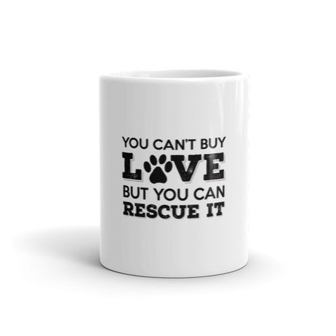 Rescue Dog Love - Mug -  - 1