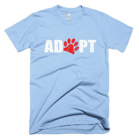 Adopt - Short Sleeve Men's T-Shirt -  - 1