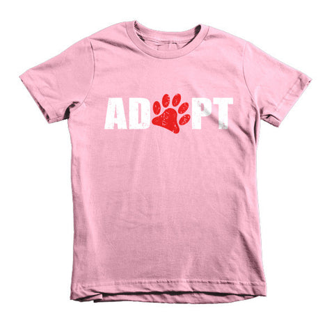 Adopt - Short Sleeve Kids T-Shirt -  - 1