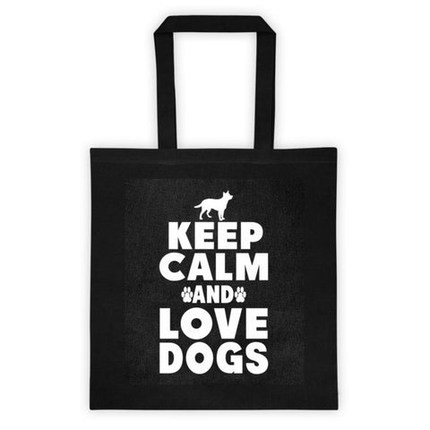 Tote bag - Keep Calm & Love Dogs -  - 1