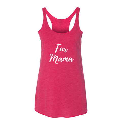 Fur Mama - Women's Tank Top -  - 1