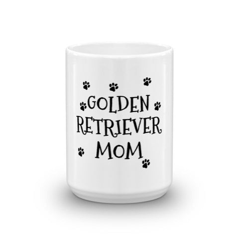 Golden Retriever Mom - Mug - Paw Lifestyles Brand - Dog and Pet Products  - 1