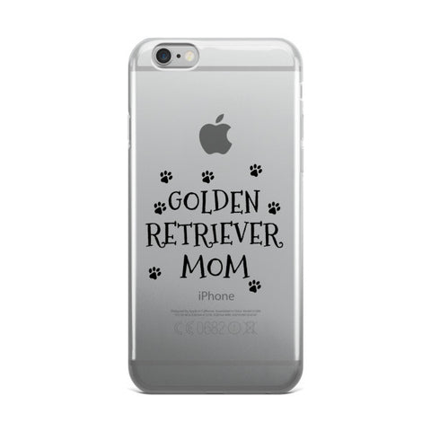 iPhone case - Golden Retriever Mom - Paw Lifestyles Brand - Dog and Pet Products  - 1
