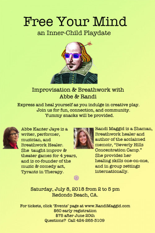 FREE YOUR MIND - Improvisation and Breathwork