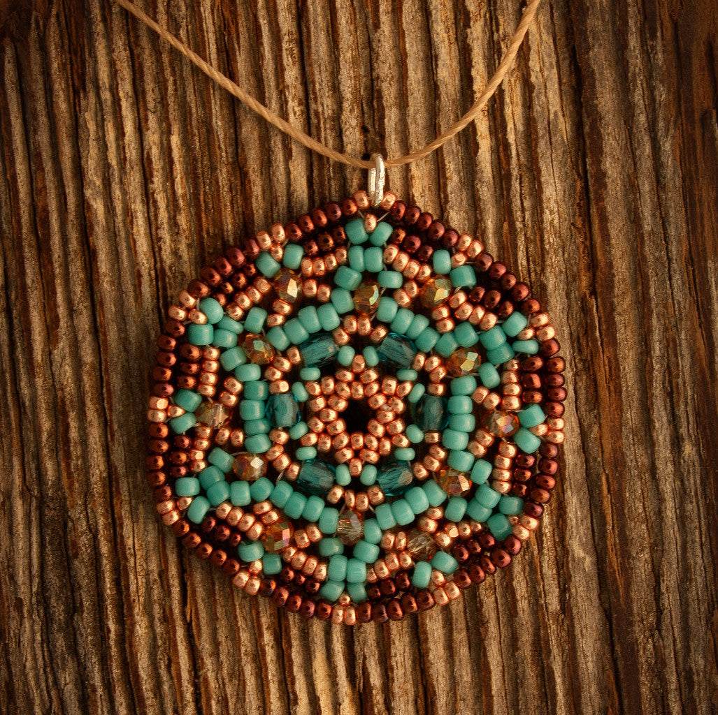 Exclusive Beaded Mandala Necklace