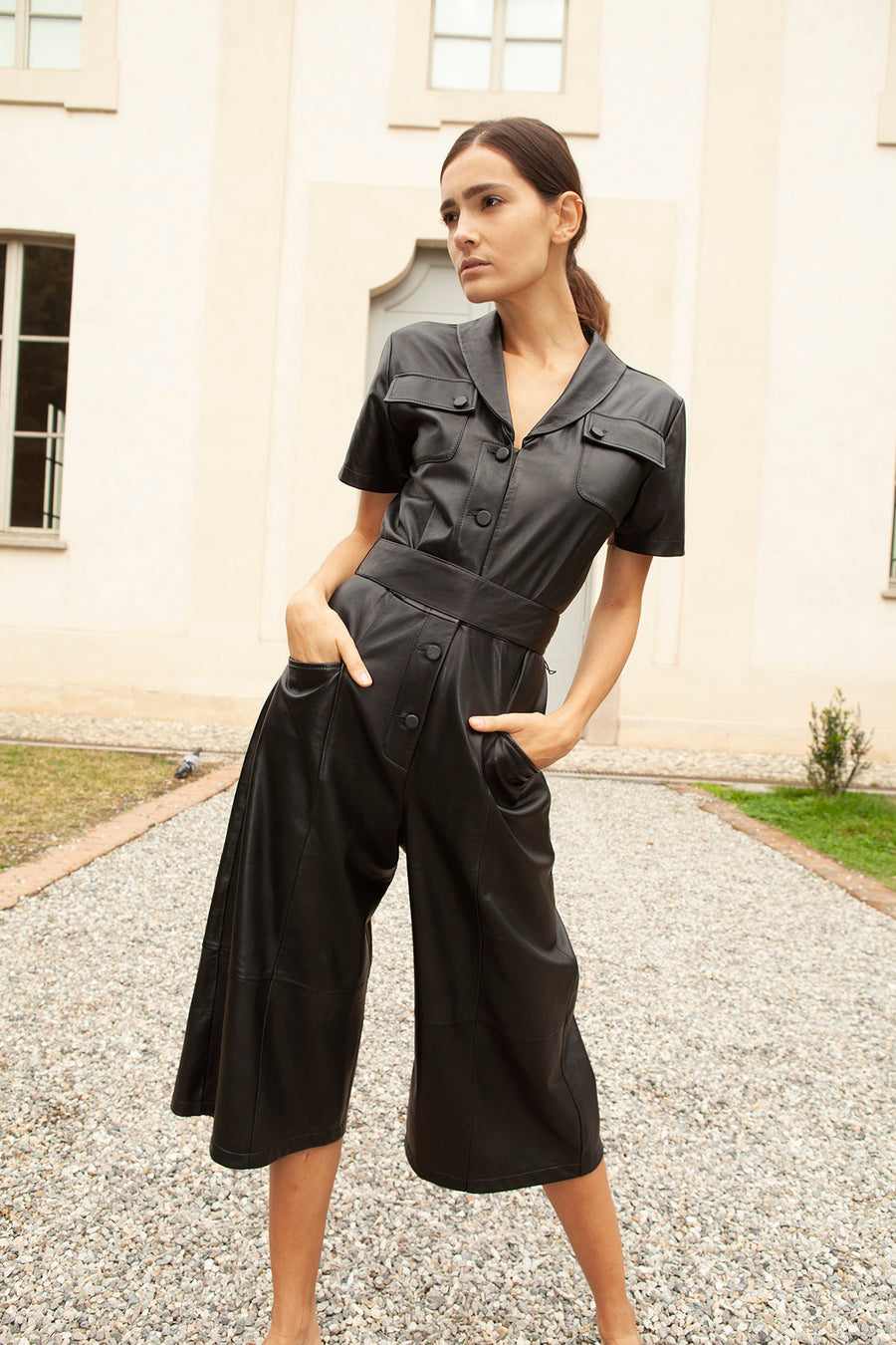 Crema Jumpsuit in Black