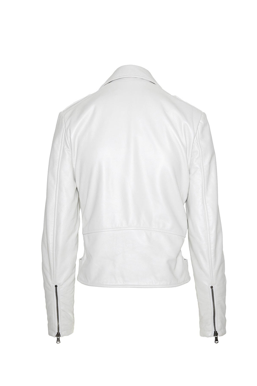 Moto Jacket in White