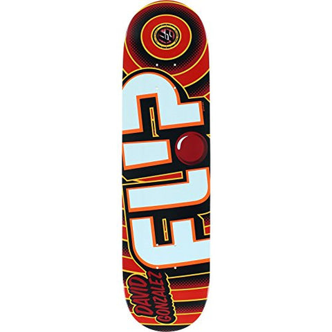 Flip Gonzalez Odyssey Bold Skateboard Deck -8.0 Red P2 is available here at BonusSkate you can also find subscription products, skateboarding products and video bogs, mens apparel, and latest innovative products.