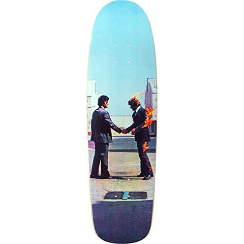 "Habitat Skateboards Pink Floyd Wish You Were Here Cruiser Skateboard Deck - 9"" x 32"" is available here at BonusSkate you can also find subscription products, skateboarding products and video bogs, mens apparel, and latest innovative products."