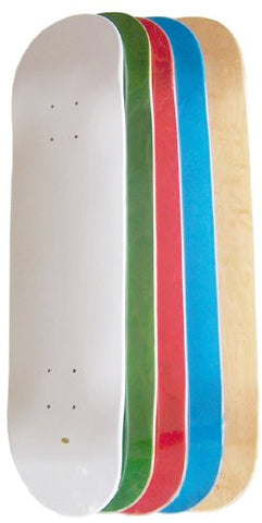 Moose Set of 5 Blank Skateboard Decks (Assorted Colors) is available here at BonusSkate you can also find subscription products, skateboarding products and video bogs, mens apparel, and latest innovative products.