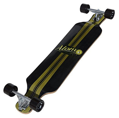 Atom Drop Deck Longboard - 39 Inch is available here at BonusSkate you can also find subscription products, skateboarding products and video bogs, mens apparel, and latest innovative products.