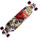 Rimable Drop-through Longboard (41-inch) is available here at BonusSkate you can also find subscription products, skateboarding products and video bogs, mens apparel, and latest innovative products.