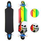Vokul Drop Down Complete longboard skateboard is available here at BonusSkate you can also find subscription products, skateboarding products and video bogs, mens apparel, and latest innovative products.