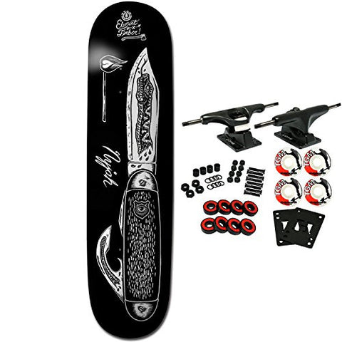 "ELEMENT Skateboard Complete NYJAH HUSTON KNIFE 7.75"" is available here at BonusSkate you can also find subscription products, skateboarding products and video bogs, mens apparel, and latest innovative products."