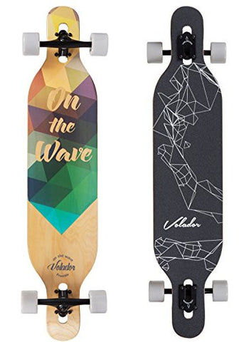 Volador 42inch Freeride Longboard ( Drop Through Camber Deck ) is available here at BonusSkate you can also find subscription products, skateboarding products and video bogs, mens apparel, and latest innovative products.