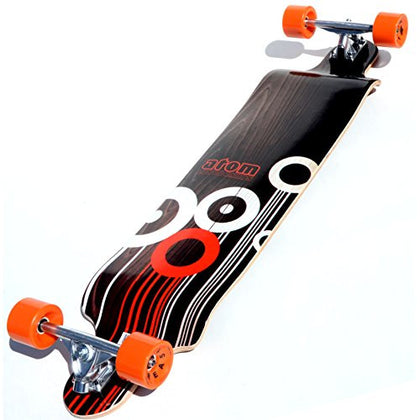 Atom Drop Deck Longboard (41-Inch) is available here at BonusSkate you can also find subscription products, skateboarding products and video bogs, mens apparel, and latest innovative products.