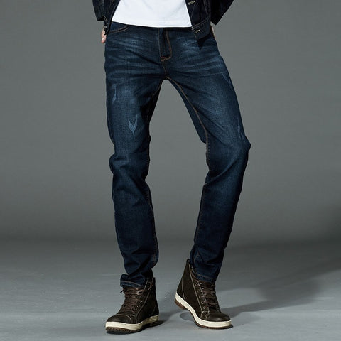 Drizzte Brand Men Stretch Denim Slim Jeans Black Blue Fashion Trendy Trousers Pants Size 33 34 35 36 38 40 42 For Men's Jean is available here at BonusSkate you can also find subscription products, skateboarding products and video bogs, mens apparel, and latest innovative products.