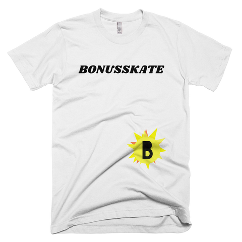 Bonusskate Short-Sleeve T-Shirt is available here at BonusSkate you can also find subscription products, skateboarding products and video bogs, mens apparel, and latest innovative products.