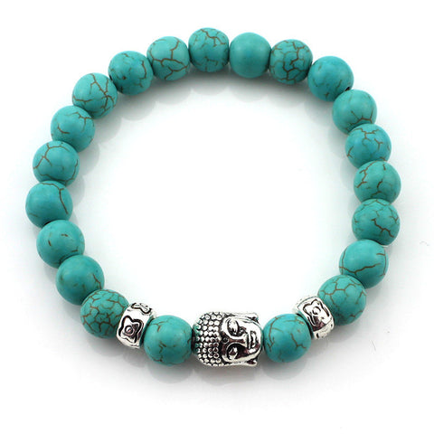 (3 pcs/lot) Natural Stone Buddha Bracelets is available here at BonusSkate you can also find subscription products, skateboarding products and video bogs, mens apparel, and latest innovative products.
