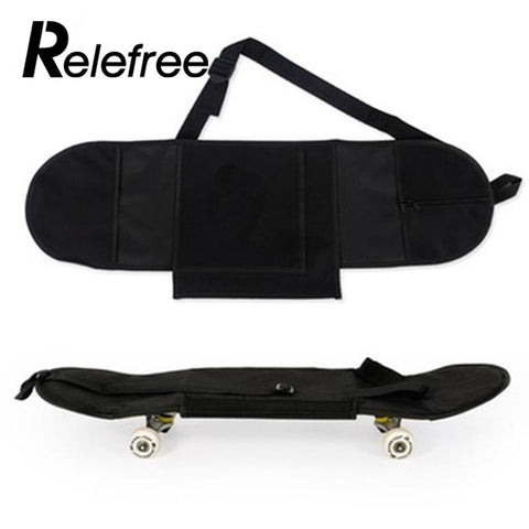 Relefree Durable Convenient Portable Skateboarding Skateboard Cover Longboard Carrying Backpack Carry Bag is available here at BonusSkate you can also find subscription products, skateboarding products and video bogs, mens apparel, and latest innovative products.