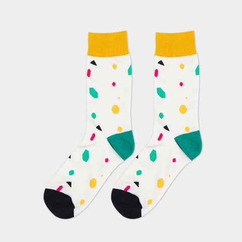 Colorful Cotten Socks is available here at BonusSkate you can also find subscription products, skateboarding products and video bogs, mens apparel, and latest innovative products.