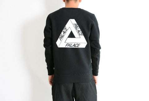 Palace Skateboard Long Sleeve Sweatshirt is available here at BonusSkate you can also find subscription products, skateboarding products and video bogs, mens apparel, and latest innovative products.