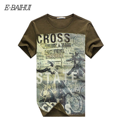 E-BAIHUI Men's Cotton  T-shirts is available here at BonusSkate you can also find subscription products, skateboarding products and video bogs, mens apparel, and latest innovative products.